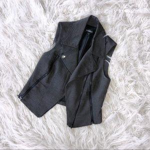Zipper Detail Vest